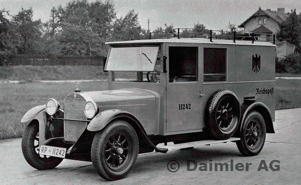 1927-28 Mercedes Benz W02 L-34-delivery-van