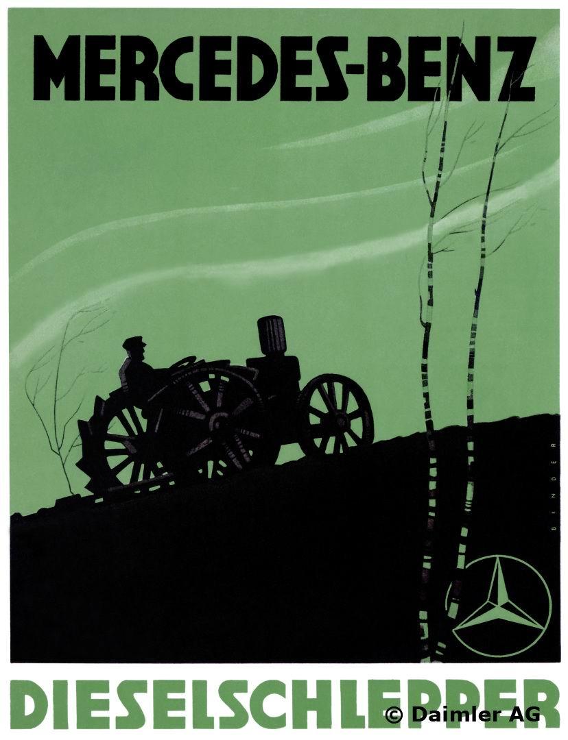 1927 Dieselschlepper ad