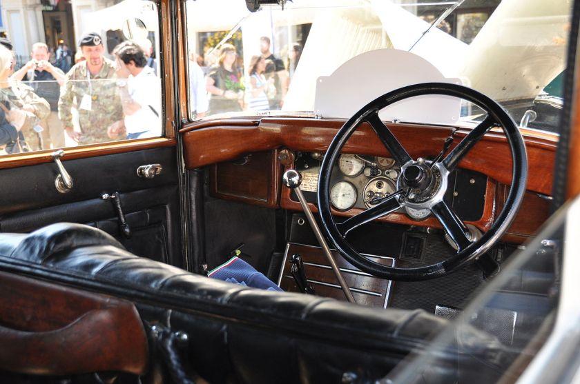 1927 Isotta Fraschini 8A Vintage cars (Le residenze sabaude)