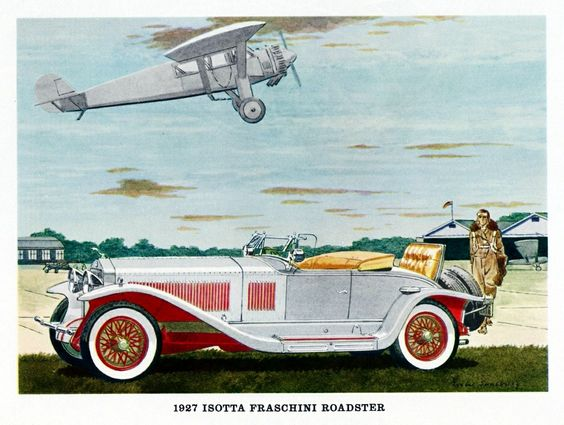 1927 Isotta Fraschini Ad