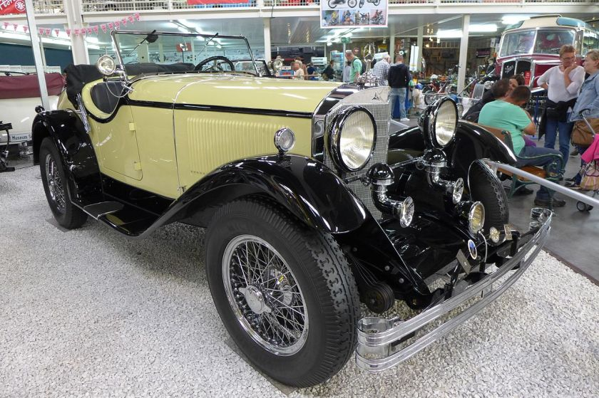 1927 Mercedes Benz 400 K Tourer Sinsheim, a Daimler-Benz product