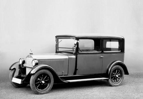 1927 Mercedes Benz 8-38 HPS (W02) Stuttgart 200