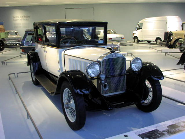 1927 Mercedes Benz 8-38HP WO2