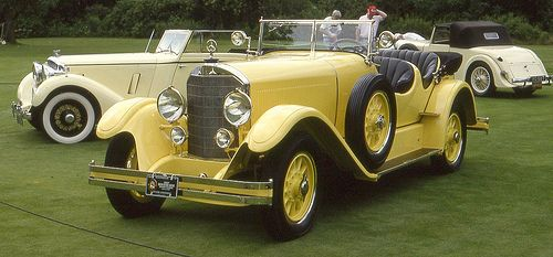 1927 Mercedes Benz K Sport touring