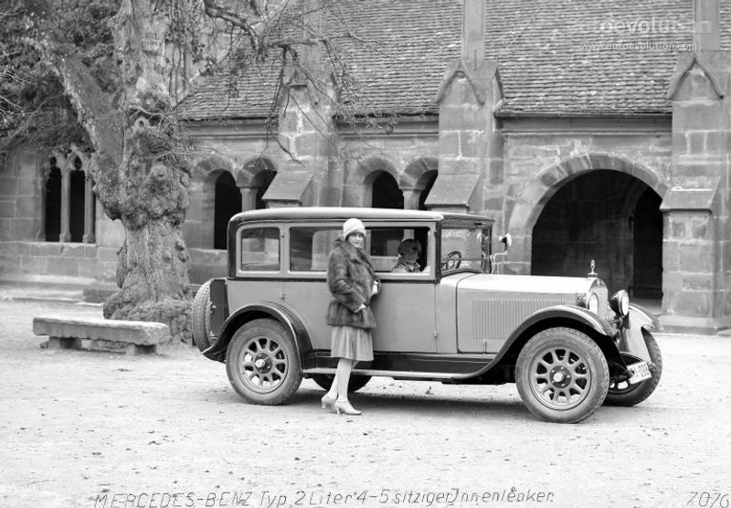 1928-33 MERCEDES BENZ 8-38 Typ Stuttgart 200 (W02) a