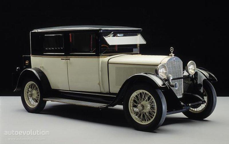 1928-33 MERCEDES BENZ 8-38 Typ Stuttgart 200 (W02)