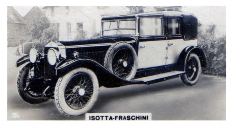 1928 Isotta-Fraschini (1)