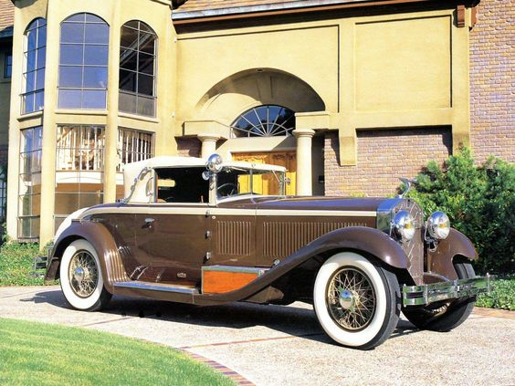 1928 Isotta-Fraschini Tipo 8A Convertible Coupe - (Isotta-Fraschini, Milan, Italy 1900-1949)