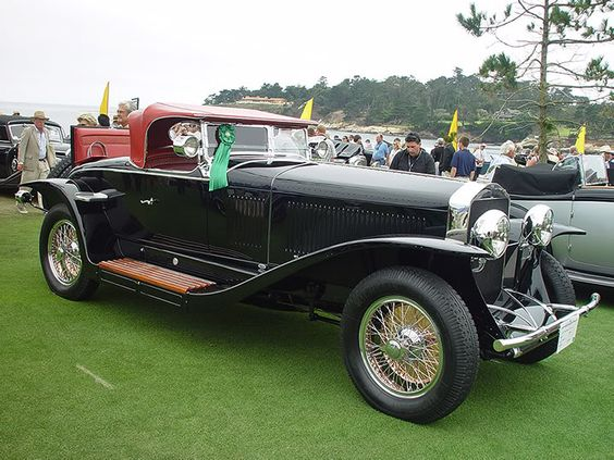 1928 Isotta-Fraschini Tipo 8A S Boattail Speedster by LeBaron a