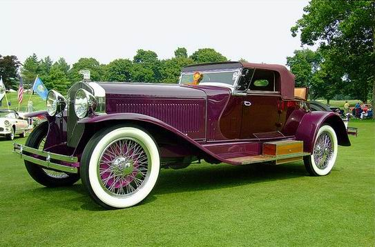 1928 Isotta-Fraschini Tipo 8A S Boattail Speedster by LeBaron
