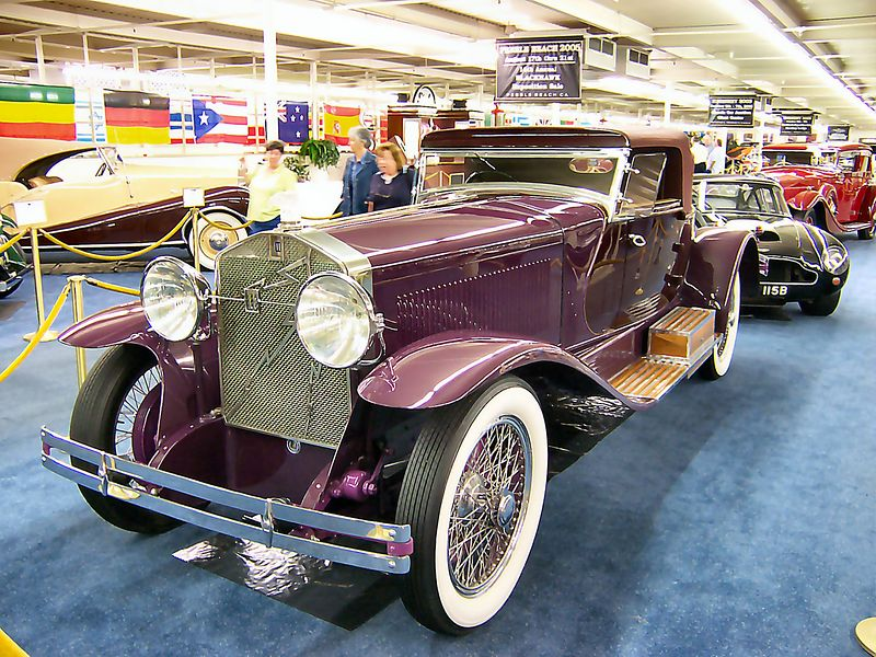 1928 Isotta-Fraschini Tipo 8A S Le Baron Boattail Roadster