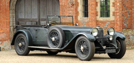 1928 Mercedes Benz 26-120-180 'S' Type Sports Tourer