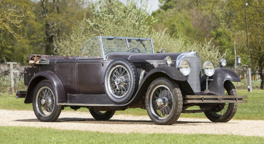 1928 Mercedes Benz 630K Tourer by Erdmann & Rossi