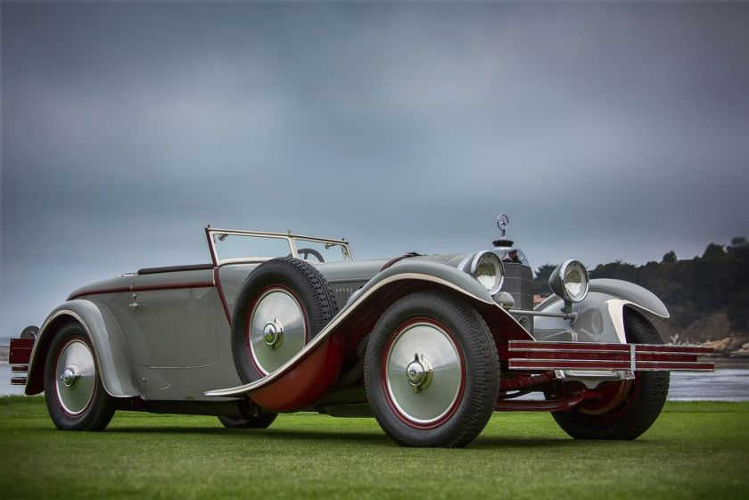1928 Mercedes Benz 680S Torpedo Roadster by Carrosserie J. Saoutchik