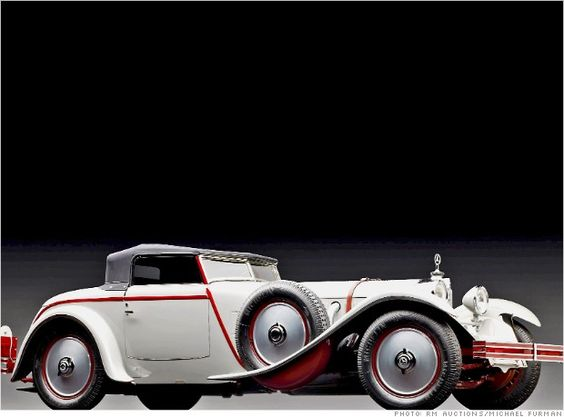 1928 Mercedes Benz 680S Torpedo Roadster