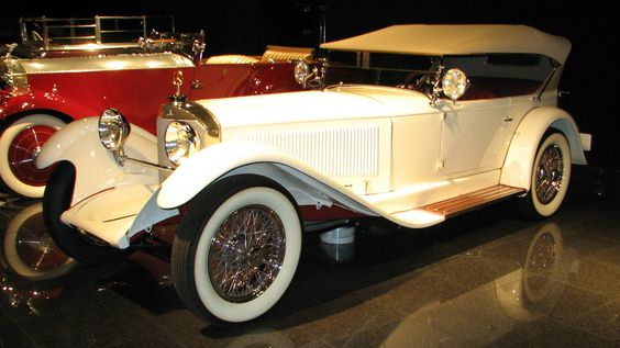 1928 Mercedes Benz, Model S, Tourer (Al Jolson) 1