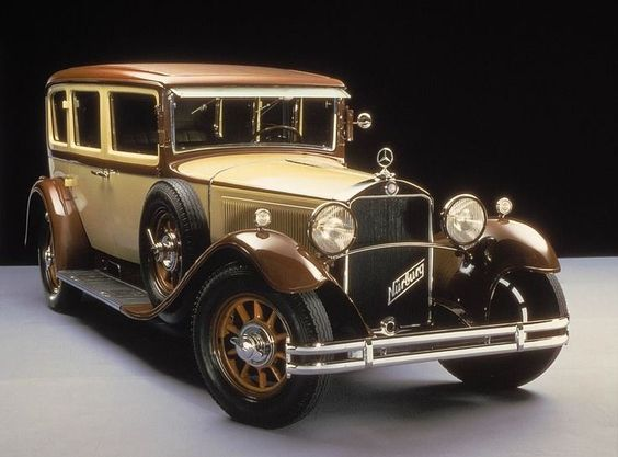 1928 Mercedes Benz W8 1st series Passenger Car