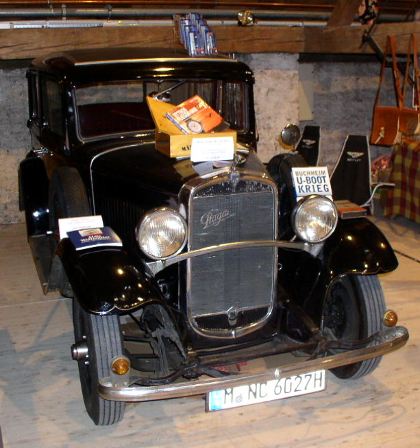 1928 Praga Piccolo