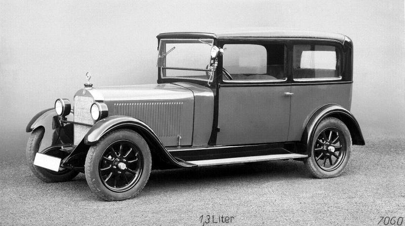 1928 Prototype of the Mercedes-Benz W14 5 25 hp Saloon.1