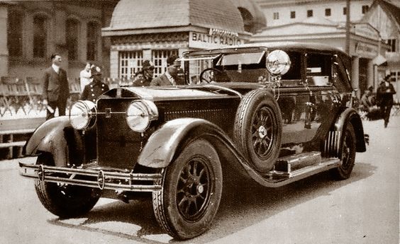 1928 ZZ - Isotta Fraschini Cabriolet