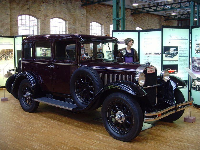 1929-34 Mercedes Benz Typ 10-50 PS W11