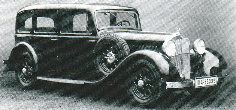 1929-35 mercedes benz 370K W 12 o2423