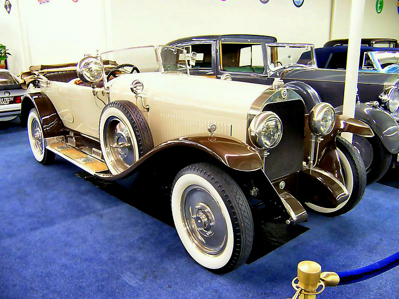 1929 Isotta Fraschini Tipo 8 Sala Phaeton