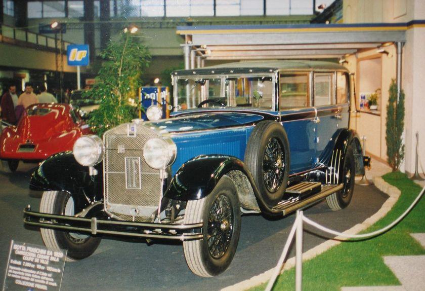 1929 Isotta Fraschini Tipo 8A Sedanca De Ville