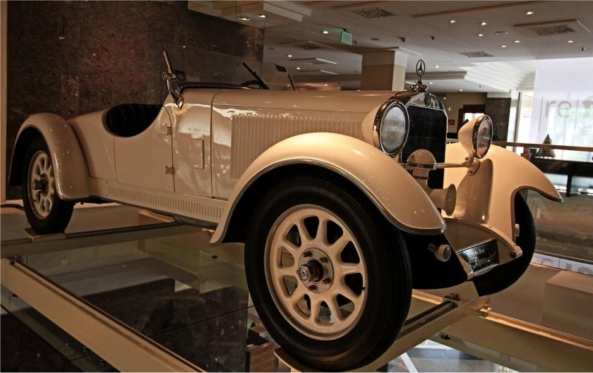 1929 Mercedes Benz 8-38 HP Typ Stuttgart 200 Roadster WO2
