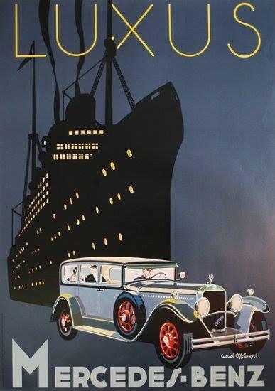1929 Mercedes Benz ad