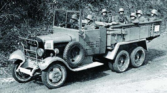 1929 Mercedes-Benz G3a, 6x6