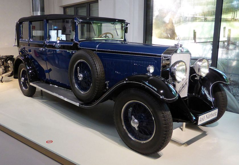 1929 Mercedes Benz Nürburg 460 WO8