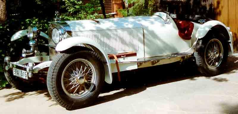 1929 Mercedes Benz W06