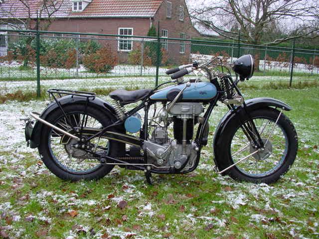 1929 Praga BD motorcycle