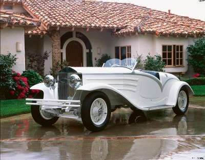 1930 Isotta Fraschini 8A Flying Star Roadster