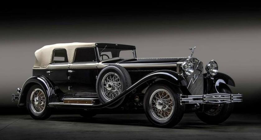 1930 Isotta Fraschini 8A SS Cabriolet.