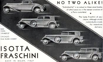 1930 isotta fraschini ad1
