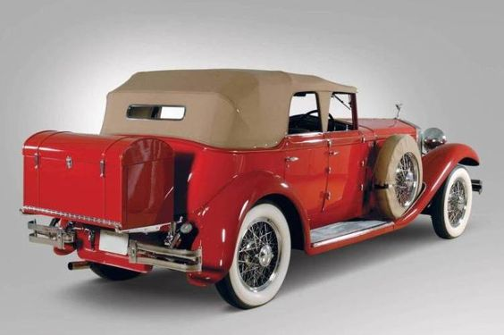 1930 Isotta-Fraschini Mode 8A Convertible Sedan