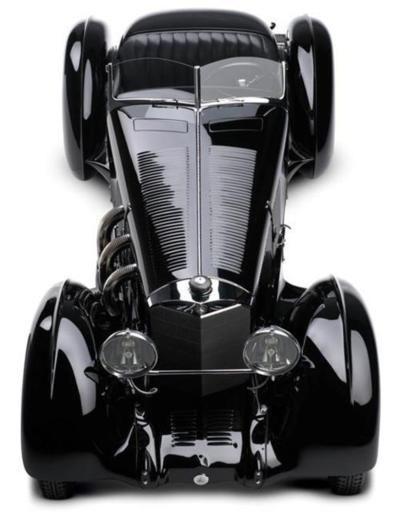 1930 Mercedes Benz SSK, Comte Trossi
