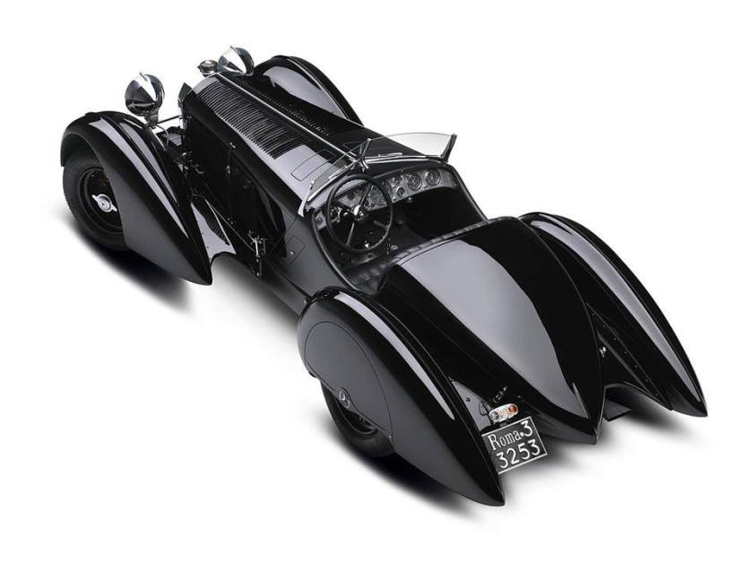 1930 Mercedes Benz SSK Trossi Roadster