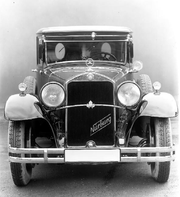1930 Mercedes Benz Typ Nürburg 460 W08