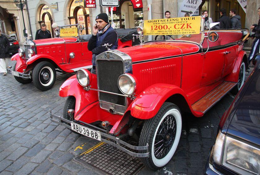 1930 Praga Alfa 19 Série