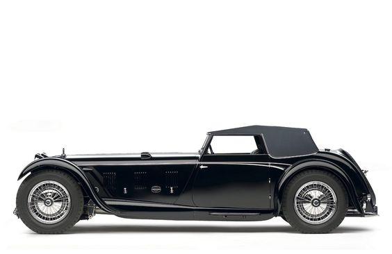 1931 Daimler Double Six 50 Sport Corsica Drophead Coupe