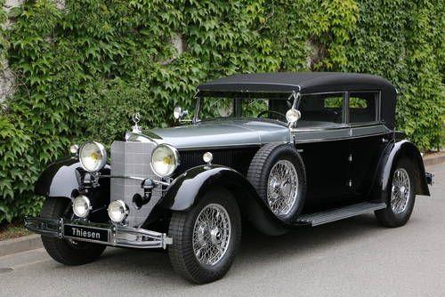 1931 Mercedes 770 K Cabriolet D