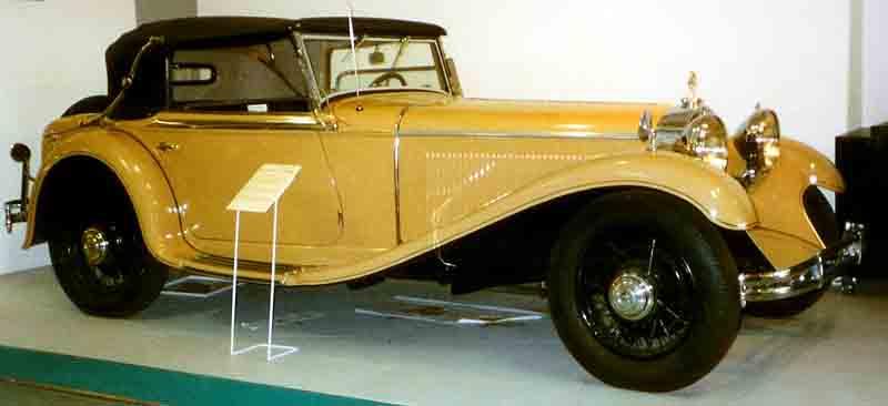 1931 Mercedes Benz Mannheim 370 S Sport-Cabriolet