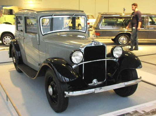 1931 Mercedes Benz Typ 170 W 15 170-6