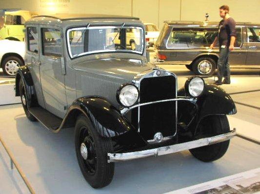 1931 Mercedes Benz Typ 170 W 15 170-6