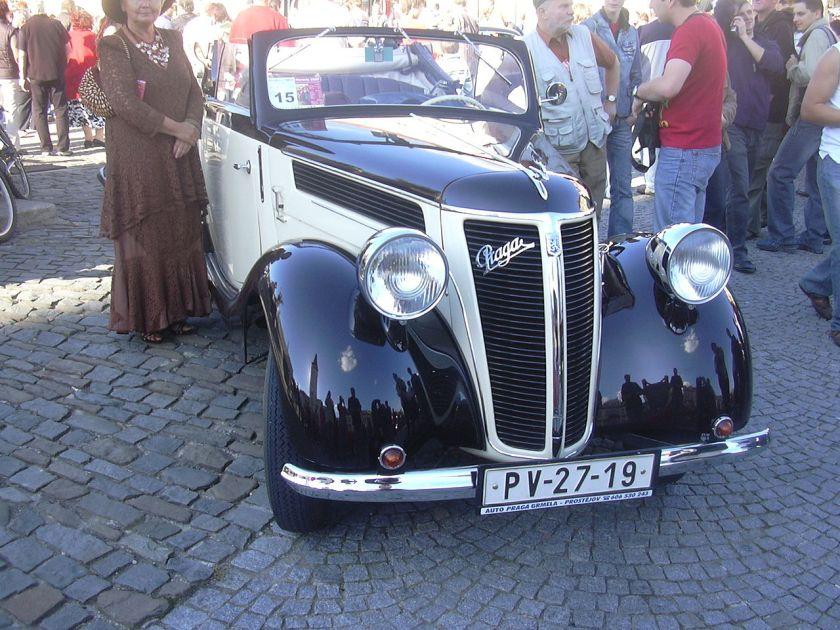 1931 Praga Golden 3 Série