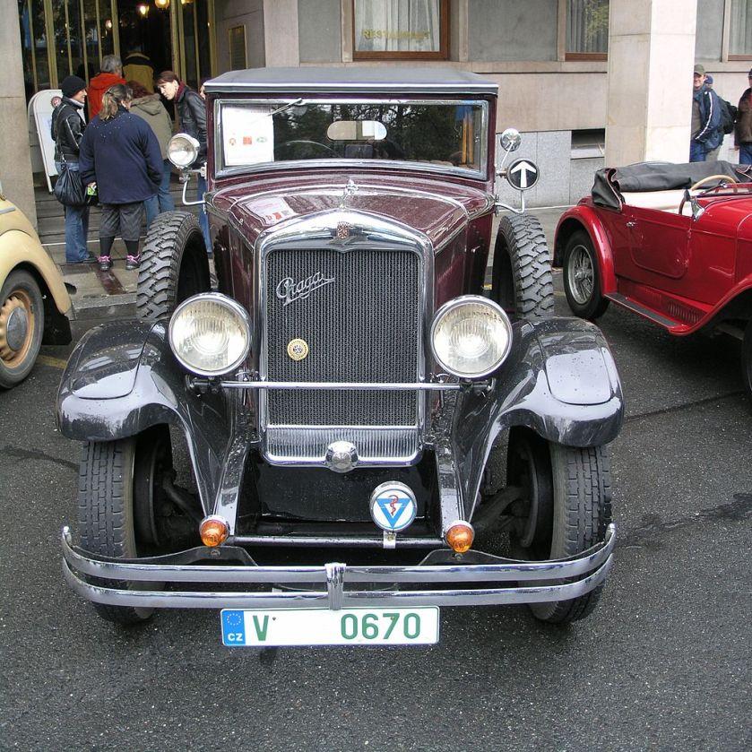 1931 Praga Kellner cabrio