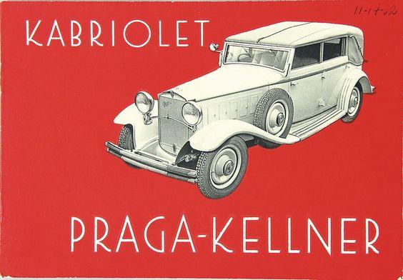 1931 Praga Kellner